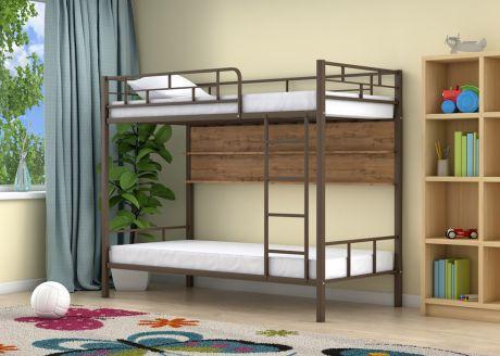 Двухъярусная кровать Ницца Коричневый полка