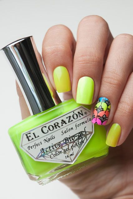 El Corazon Active Bio-gel Активный Био-гель  Jelly Neon 423/251     16 мл