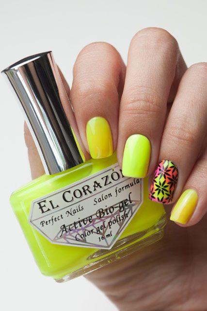 El Corazon Active Bio-gel Активный Био-гель  Jelly Neon 423/253     16 мл