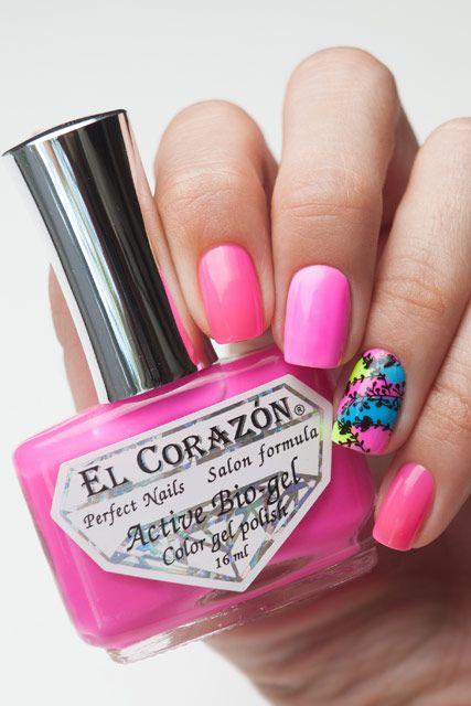El Corazon Active Bio-gel Активный Био-гель  Jelly Neon 423/256   16 мл