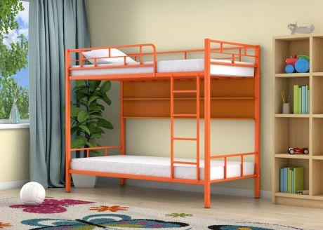 Двухъярусная кровать Ницца Оранжевый полка
