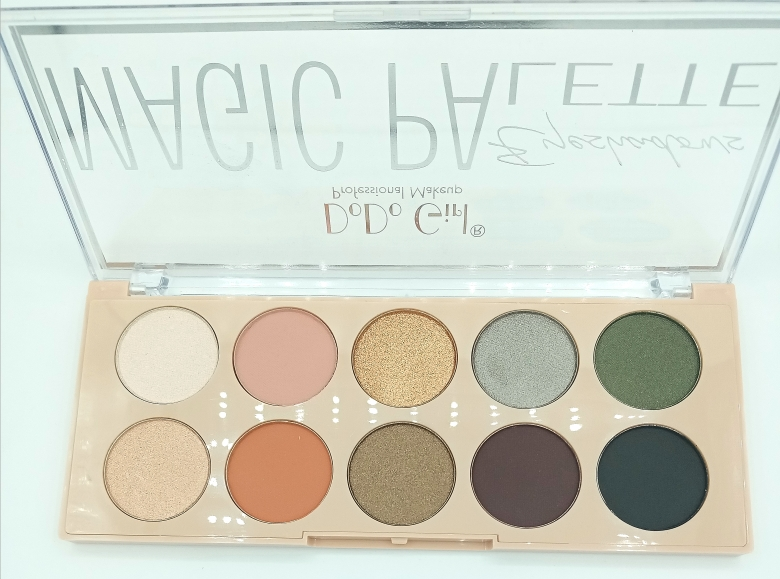 Тени для век DoDo Girl MAGIC PAlette 03