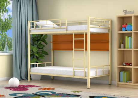Двухъярусная кровать Ницца Слоновая кость полка