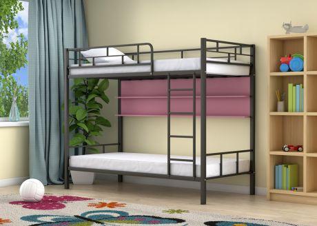 Двухъярусная кровать Ницца Черный полка