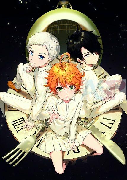 Плакат Yakusoku no Neverland