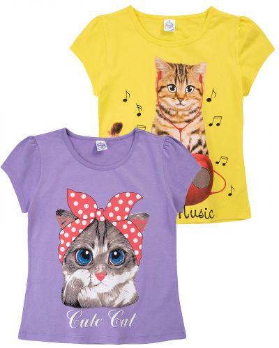 """Футболка для девочек 8-12 лет Bonito """"Cats"""""""