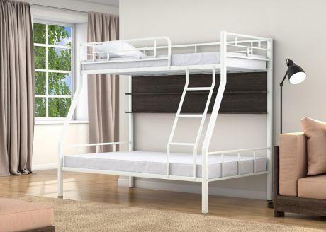 Двухъярусная кровать Раута Белый полка