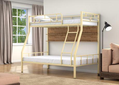 Двухъярусная кровать Раута Слоновая кость полка