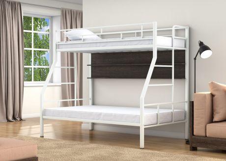 Двухъярусная кровать Раута Твист Белый полка