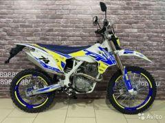 Мотоцикл кроссовый Motoland TT250 с птс 21лс