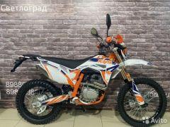Мотоцикл кроссовый Kayo T4 250 Enduro 2020г птс