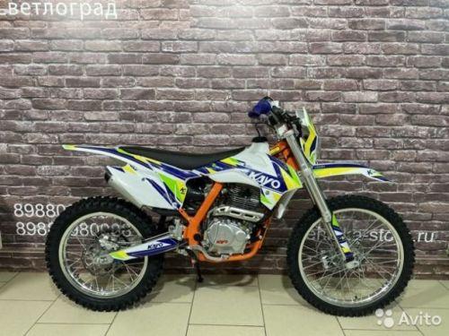 Кроссовый мотоцикл Kayo K1 Edition 2.0