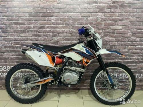 Кроссовый мотоцикл BSE Z2 250cm3 модель 2020