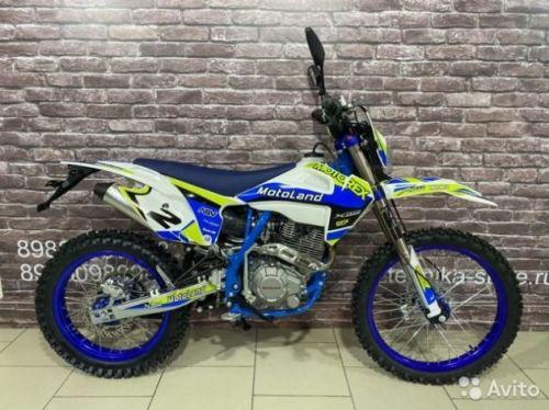 Кроссовый мотоцикл Motoland XT250HS с птс 21лс