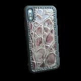Кожаный чехол-накладка «Камень» на iPhone