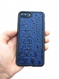 Кожаный чехол-накладка «Grand Edition» на iPhone