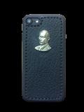 Кожаный чехол-накладка «В.В.Путин» на iPhone