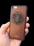 Кожаный чехол-накладка с гербом Армении на телефон