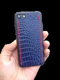 Кожаный чехол-накладка «Art Color 3» на iPhone