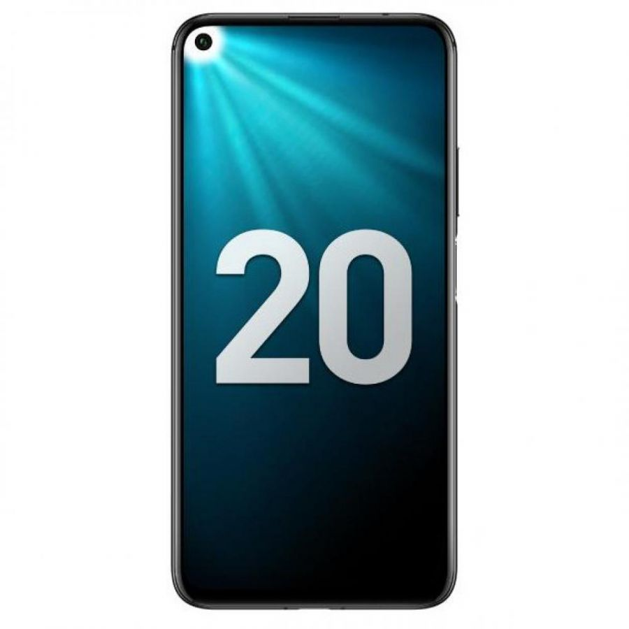 СМАРТФОН HONOR 20 6/128GB (ПОЛНОЧНЫЙ ЧЕРНЫЙ) (YAL-L21)