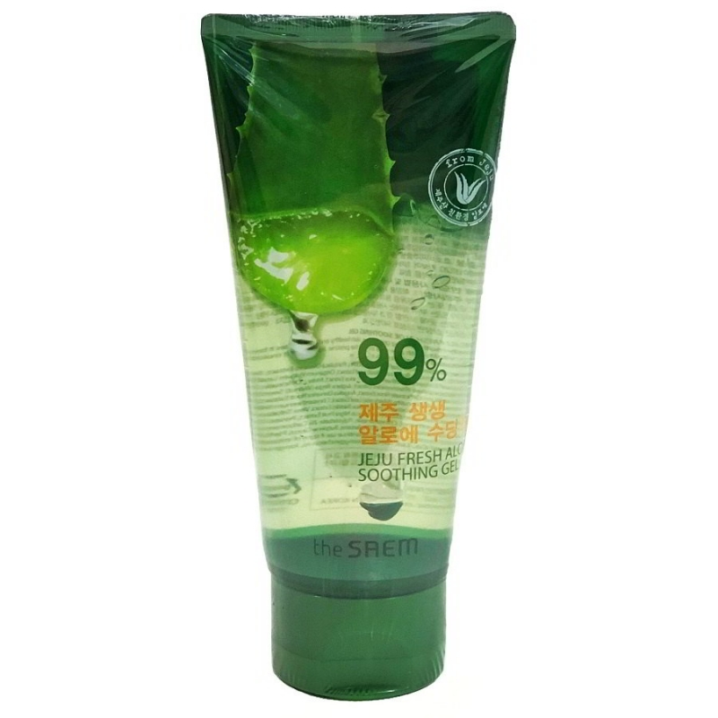 Гель с алоэ универсальный увлажняющий (Not For Sale)Jeju Fresh Aloe Soothing Gel 99%_120ml