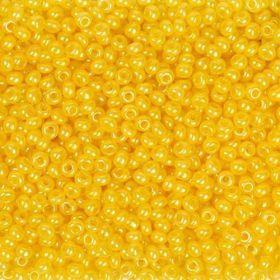 Бисер чешский 17386 желтый непрозрачный Preciosa 1 сорт
