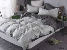 Комплект постельного белья Сатин SL  семейный  Арт.41/369-SL
