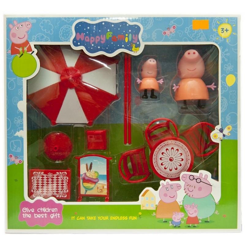 Игровой набор Свинка Пеппа, пляжный набор
