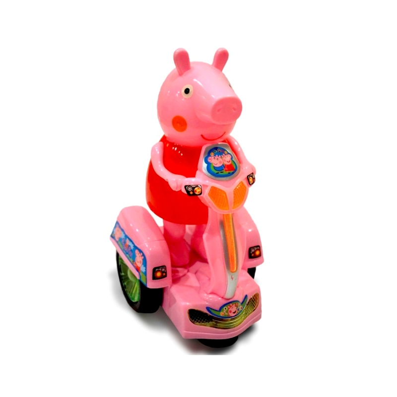 Интерактивная Свинка Peppa Pig на мотоцикле