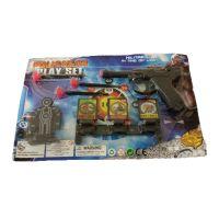 Детский набор пистолет с мишенью POLICEMAN
