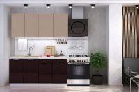 Кухня Техно (Ксения) 1,6 м (код: тех004)