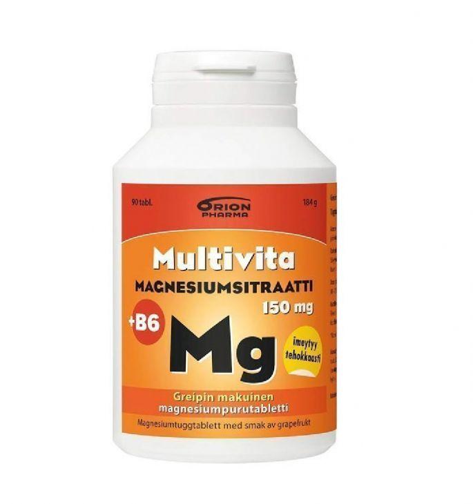Multivita Magnesium Citrate + B6