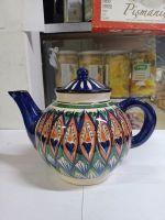 Чайник синий классический 1 л