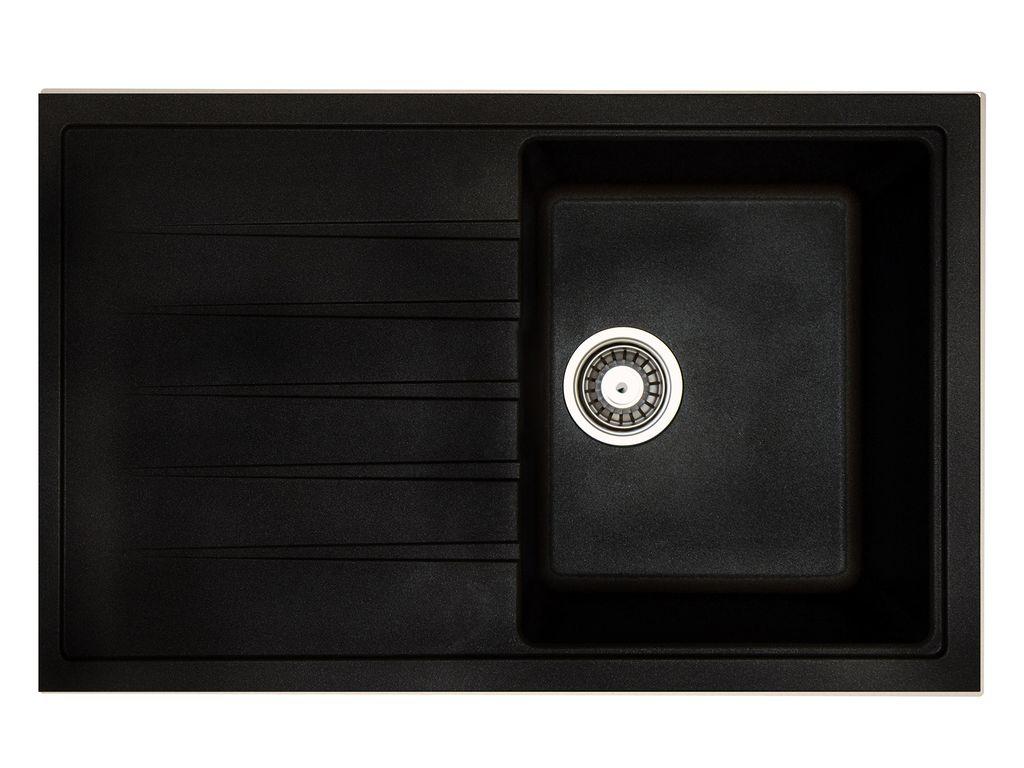 Врезная кухонная мойка Longran Classic CLS 780.500 78х50см искусственный гранит
