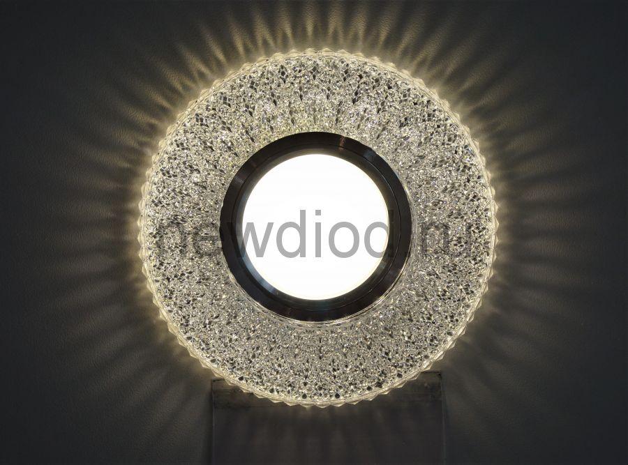 Точечный Светильник OREOL Crystal 7760 115/60mm Под Лампу MR16 Белый