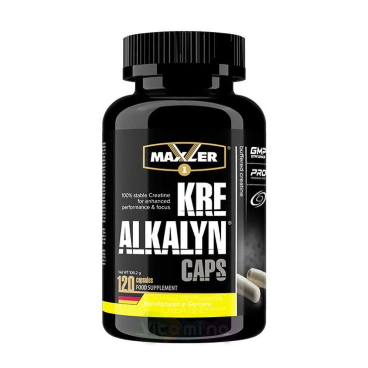 Maxler Kre-Alkalyn Caps, 120 капс