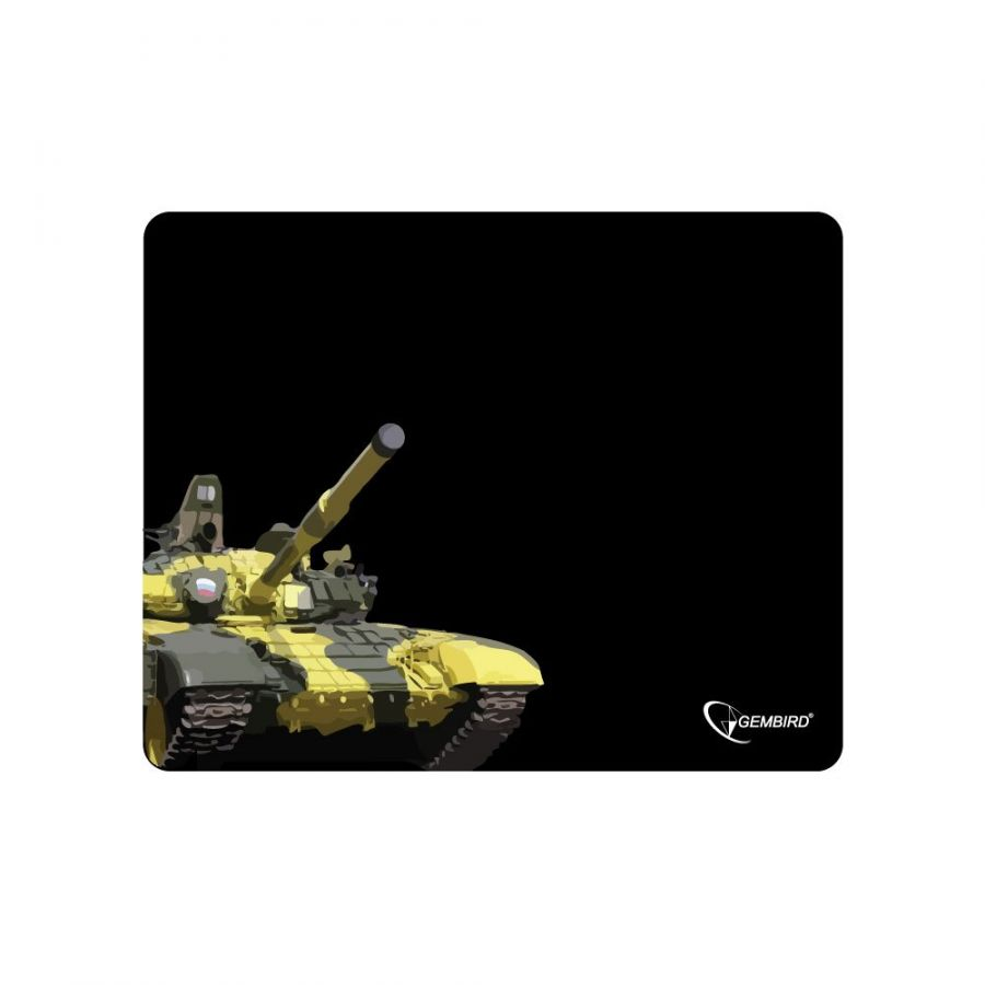 "Коврик для мыши Gembird MP-GAME10, рисунок- ""танк"""