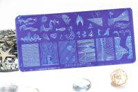 Стемпинг плитка высшее качество NICOLE DIARY - 114