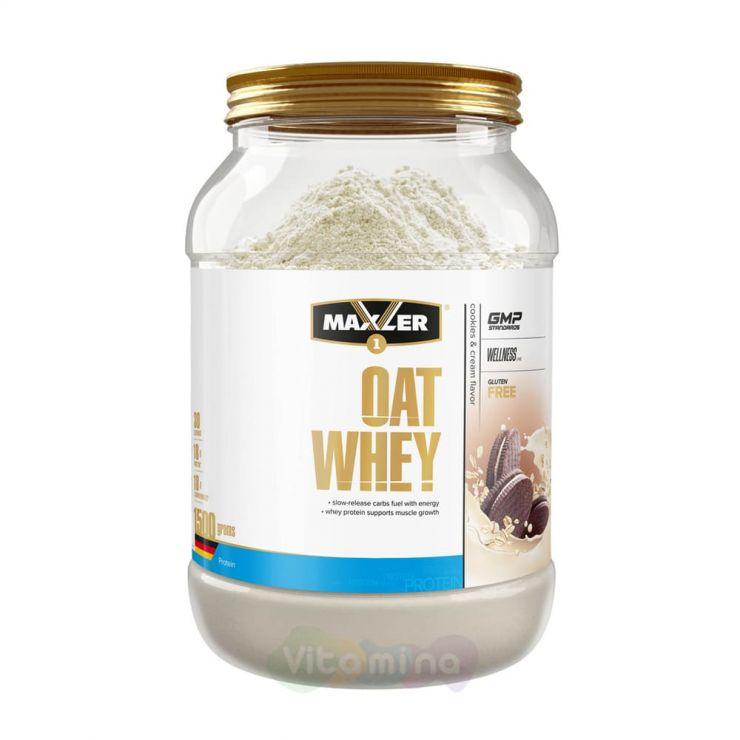 Maxler OAT WHEY Сывороточный протеин Oat Whey (овсяный протеин), 1500 гр.