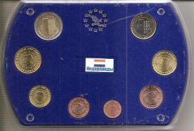 Годовой набор монет евро Нидерланды 2013 в коробке (пластик)