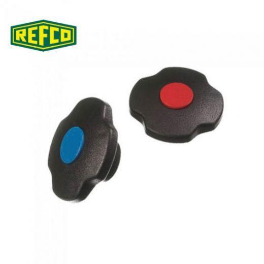 Ручки вентильные Refco M2-6-09-B+R