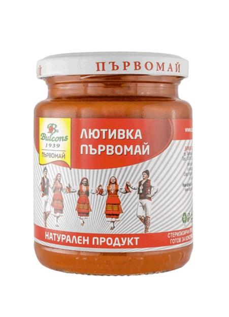 Лютеница Первомай острая - 260 г