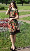 Летнее платье из платков
