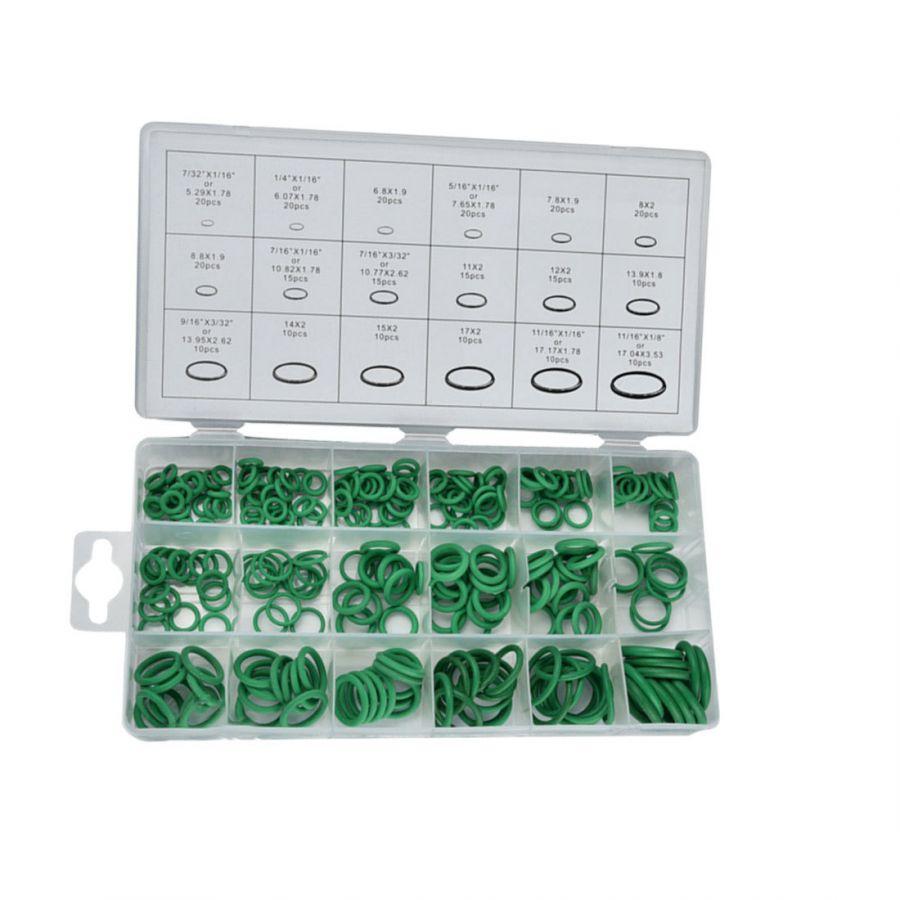GTKIT02 Набор уплотнительных колец для систем кондиционера 18 размеров, 270 шт