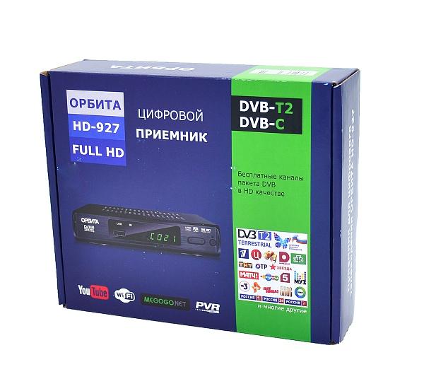 Орбита OT-DVB02 ресивер DVB-T2/С (927) (УЦЕНКА, ПОСЛЕ РЕМОНТА)