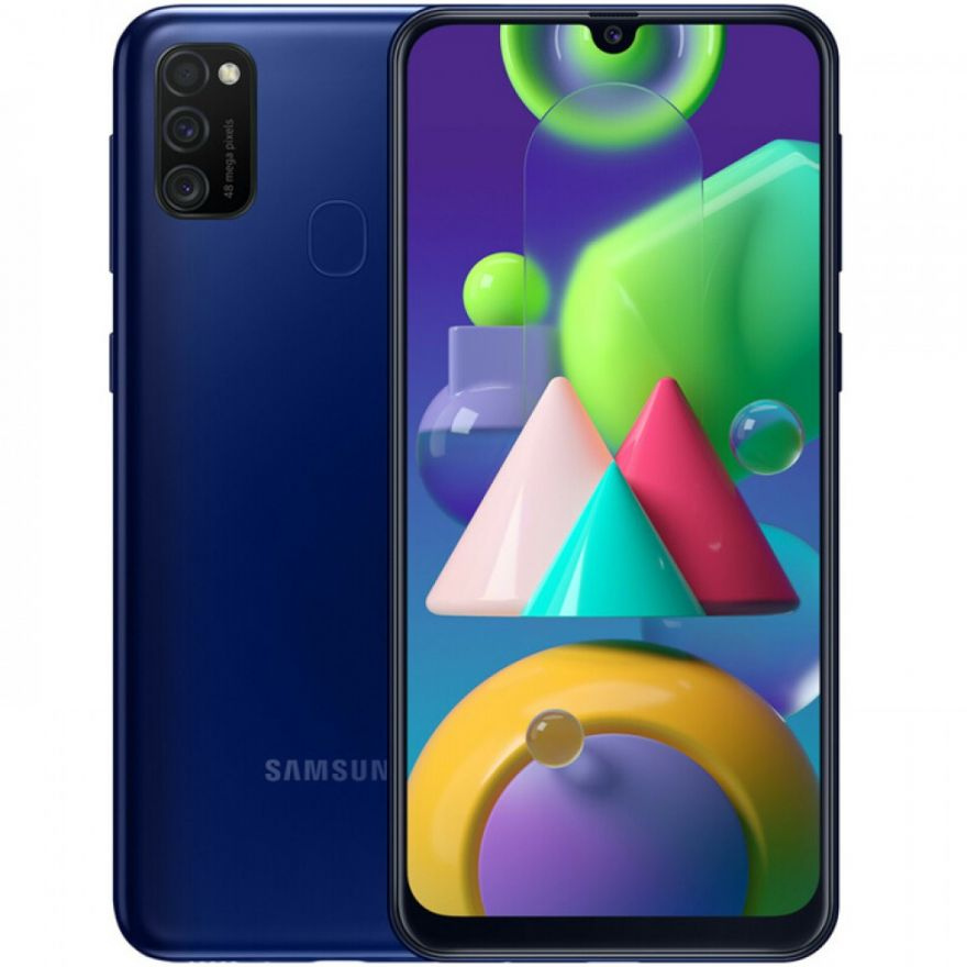 Смартфон Samsung Galaxy M21 4/64GB Синий