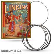 "Сцепленные кольца 20 см - Linking Rings 8"" Medium"