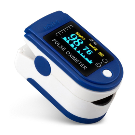 Пульсоксиметр Fingertip Pulse Oximeter 3в1
