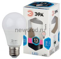 Лампы СВЕТОДИОДНЫЕ СТАНДАРТ LED A60-13W-840-E27  ЭРА (диод, груша, 13Вт, нейтр, E27)