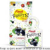 Ароматизатор для дома Fresh fruits Смородина, шт